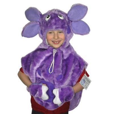 Карнавальный костюм Лунтик из флиса