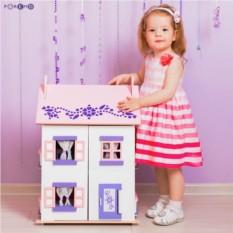 Деревянный кукольный домик Анастасия