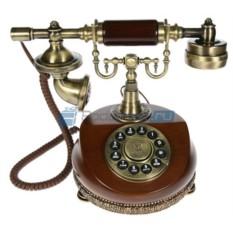 Кнопочный ретро-телефон Элизабет