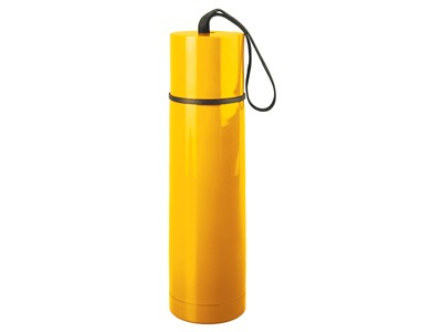 Термос на 500 мл, желтый