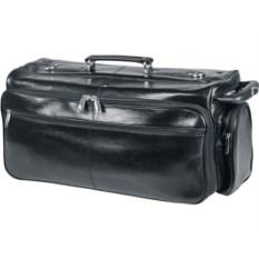 Черная сумка-портфель Багамы S.Babila из натуральной кожи