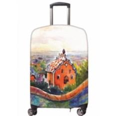 Чехол для чемодана из неоспана Гауди