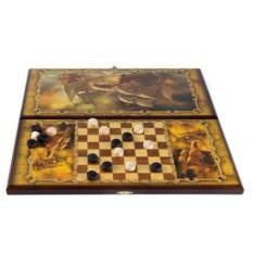 Игра настольная из дерева Баталия