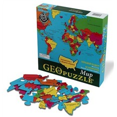 Геопазл Карта мира
