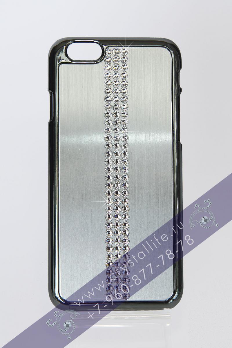 Чехол Swarovski iPhone6 Style Silver