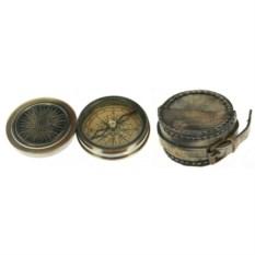 Сувенир в кожаном футляре Пиратский компас