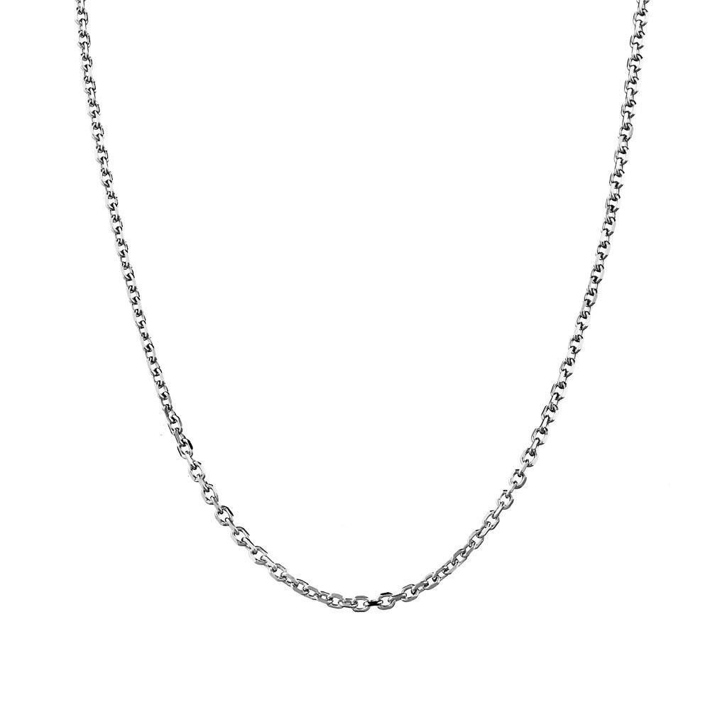 Серебряная мужская цепочка Якорного плетения