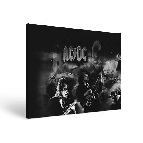 Прямоугольный холст AC/DC