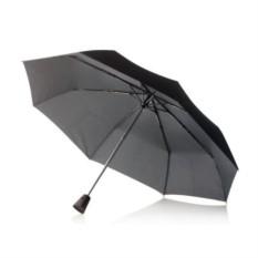 Чёрный складной зонт-автомат Brolly 21,5