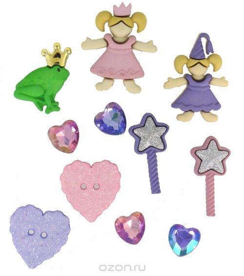 Набор пуговиц и фигурок Dress It Up Маленькая принцесса