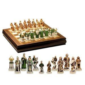 Шахматы подарочные «Взятие Казани»