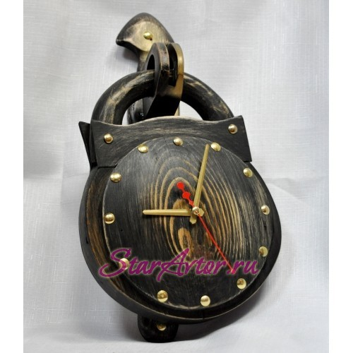 Авторские часы Замок