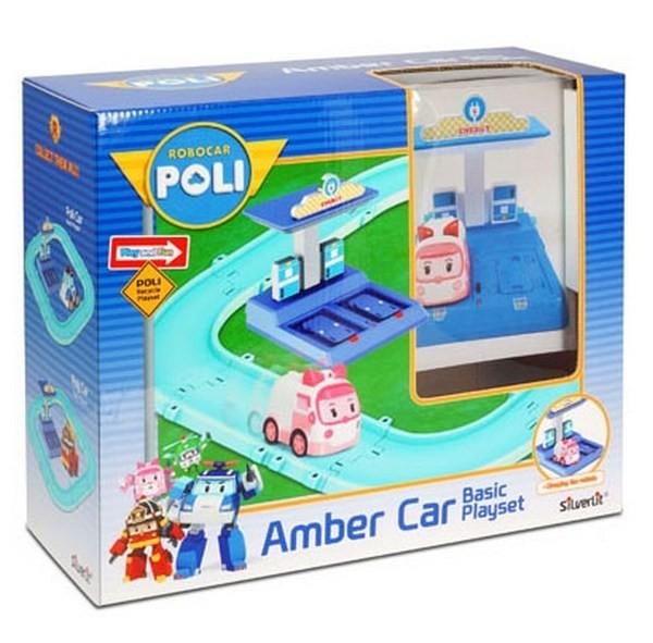 Игровой набор Robocar Трек с Умной машинкой Эмбер