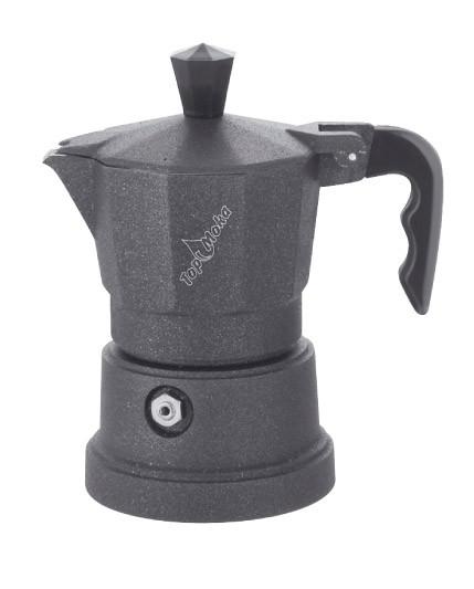Гейзерная кофеварка Top Moka