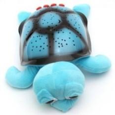 Голубой ночник-проектор Черепаха Тони с mp3 проигрывателем