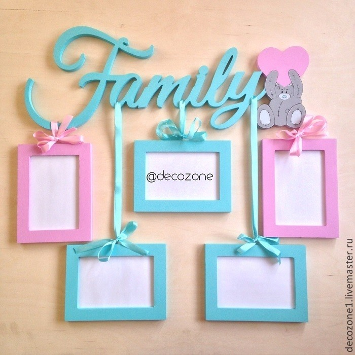 Фоторамка-коллаж Family