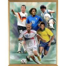 Оригинальный портрет футболиста