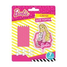 Свечи для торта с подставками Барби