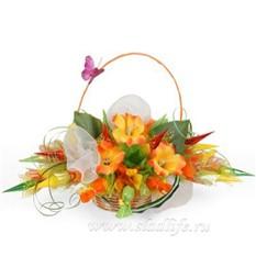 Букет из конфет Осенние цветы