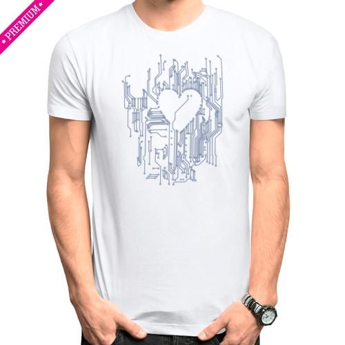 Мужская футболка Stedman Микросхема
