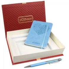 Подарочный набор Helena: записная книжка и ручка