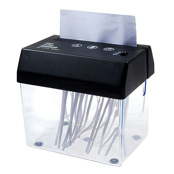 USB уничтожитель бумаг – шредер