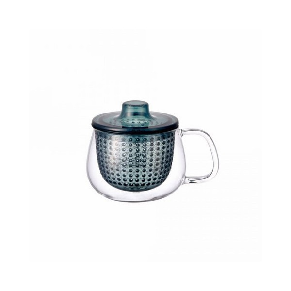 Синяя кружка - чайник Kinto