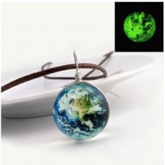 Светящийся кулон Космос. Земля