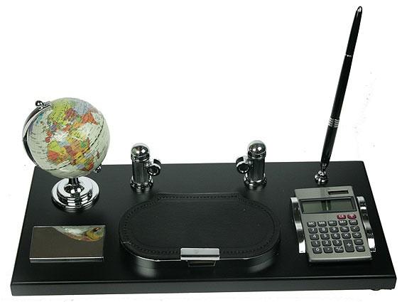 Настольный набор Глобус и калькулятор