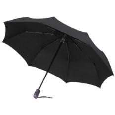 Черный складной зонт-автомат Книрпс E.200