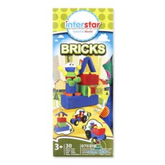 Конструктор Interstar Bricks (30 деталей)