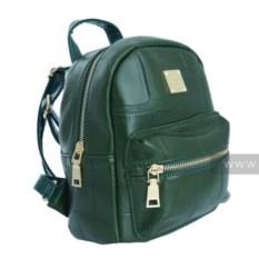 Зеленый женский рюкзак Neydeely Fake style