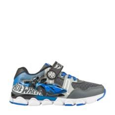 Серо-голубые кроссовки Hot Wheels
