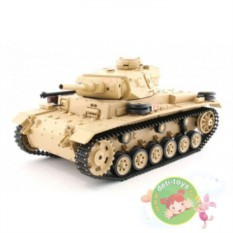 Радиоуправляемый танк Tauch Panzer III Ausf.H