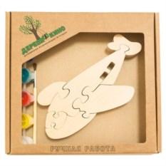 Развивающая игрушка Самолетик с красками