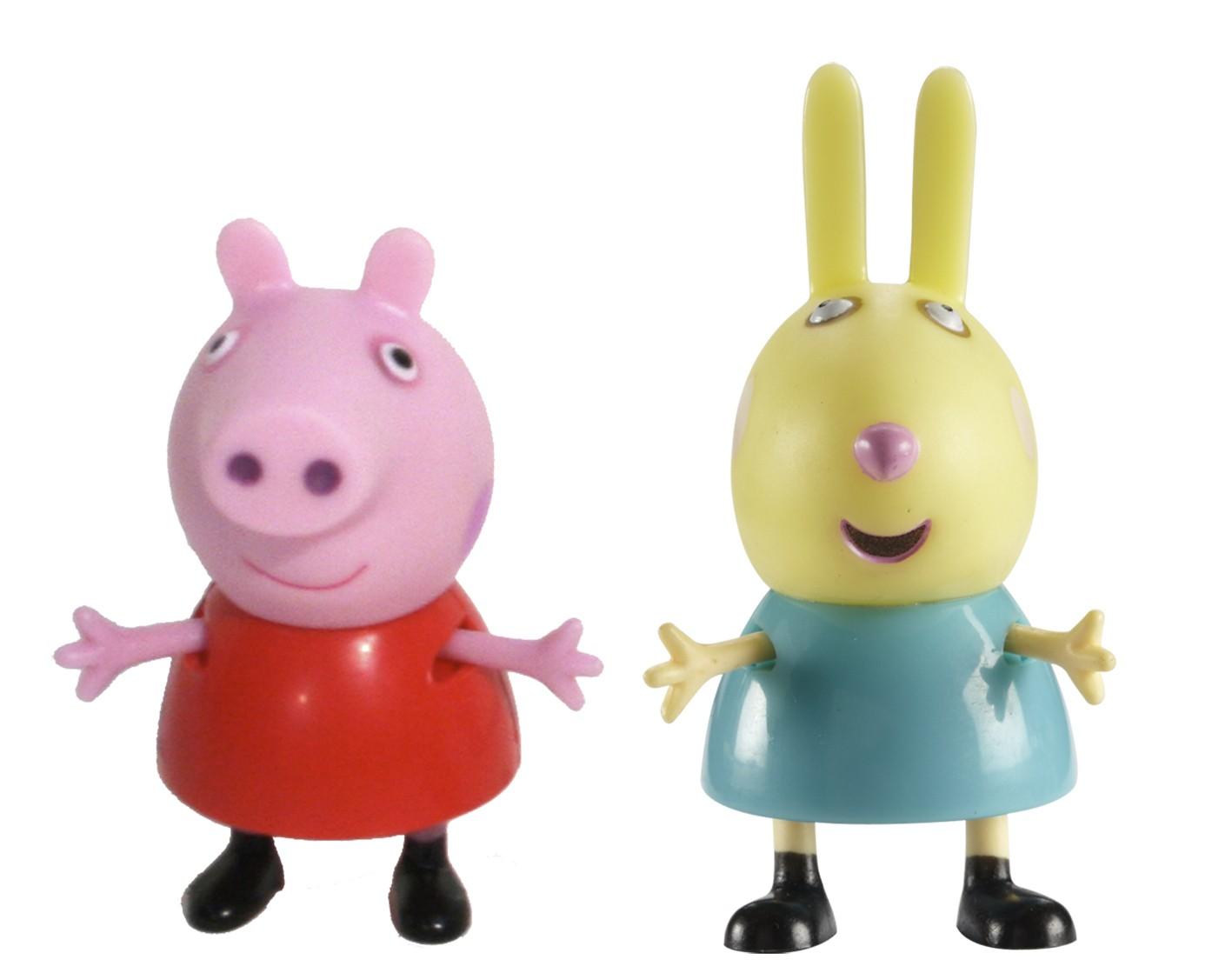 Игровой набор «Пеппа и Ребекка», Peppa Pig
