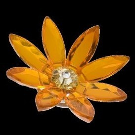 Маргаритка-магнит (оранжевая)