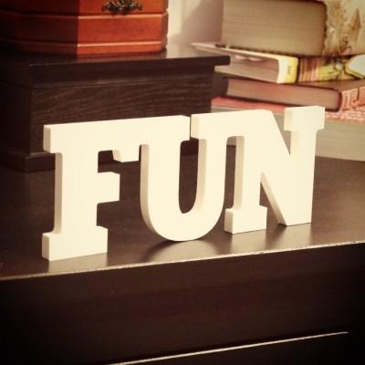 Интерьерное слово Fun