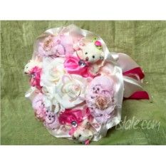 Розовый букет для принцессы