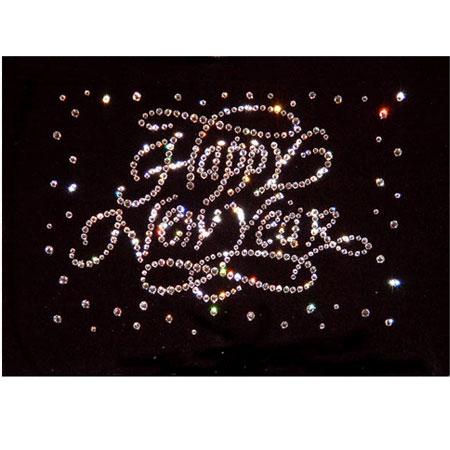Хрустальная картина Happy New Year
