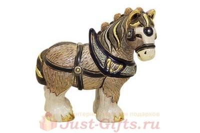 Статуэтка из керамики Конь