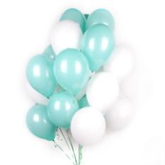 Мятные и белые шары