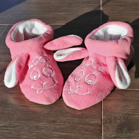 Тапочки Розовые овечки