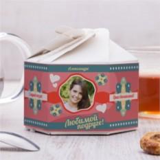 Чайный набор Для любимой подруги с фото