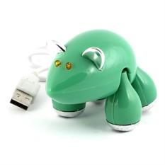 Разветвитель HUB Мышь зеленая