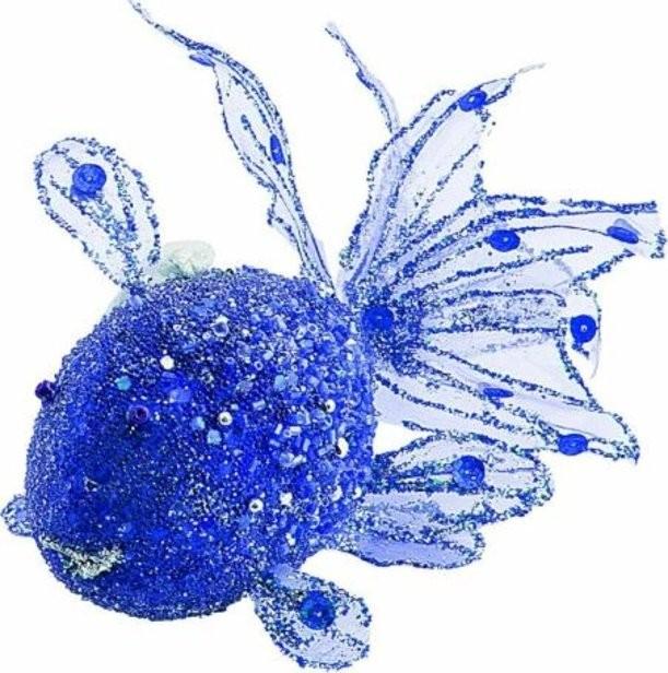 Новогоднее елочное украшение Рыбка