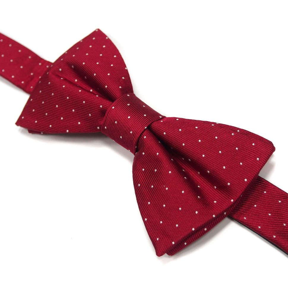 Мужской галстук-бабочка винного цвета Laura Biagiotti