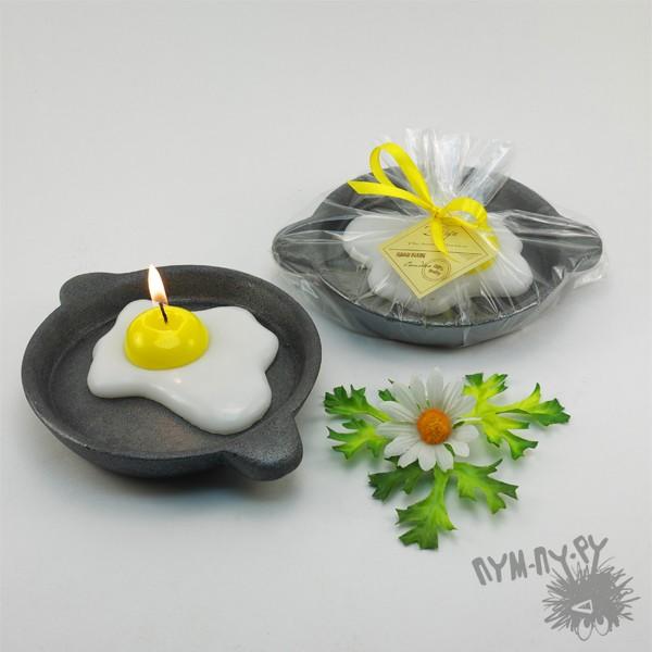 Пасхальная свеча Яичница