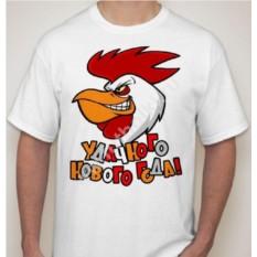Мужская футболка с петухом Удачного нового года