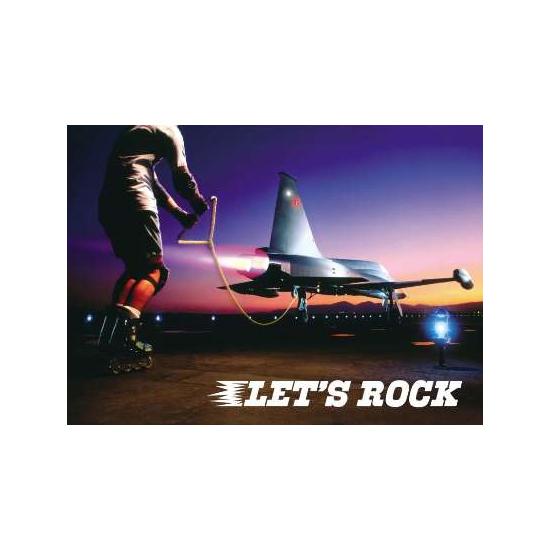 Открытка Lets Rock